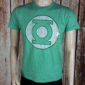 NWT DC Comics Men's Small Green Lantern T-Shirt